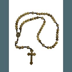 Terço Madeira Nossa Senhora das Graças - 26924 - Betânia Loja Católica