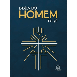 Bíblia do Homem de Fé- Santuário - 19638 - Betânia Loja Católica