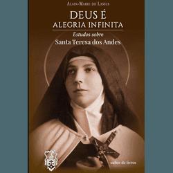 Livro : Deus é Alegria Infinita- Estudos sobre San... - Betânia Loja Católica