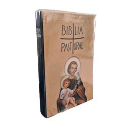 Bíblia Pastoral - Média Capa Cristal -São José - 1... - Betânia Loja Católica