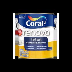 CORAL RENOVA TETOS BRANCO 3,6L - Biadola Tintas
