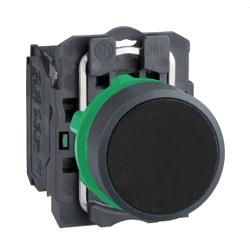 Botão 22mm Plástico Pulsador Preto 1NA XB5AA21 Sch... - Bignotto Ferramentas