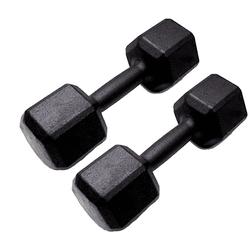HALTER SEXTAVADO PINTADO 6KG - PAR | INICIATIVA FITNESS - Iniciativa Fitness