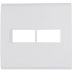 Placa 4x4 com 2 Postos Branco LIZ - Tramontina - Broketto Materiais Elétricos