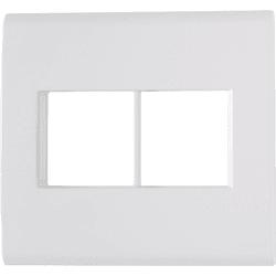 Placa 4x4 com 4 Postos Branco LIZ - Tramontina - Broketto Materiais Elétricos