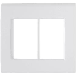 Placa 4x4 com 6 Postos Branco LIZ - Tramontina - Broketto Materiais Elétricos