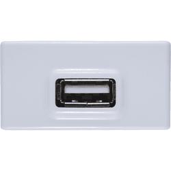 Módulo Tomada USB 2A Branco LIZ - Tramontina - Broketto Materiais Elétricos