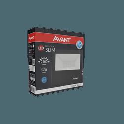 Refletor Led 30W Branco 6.500k Bivolt - Broketto Materiais Elétricos