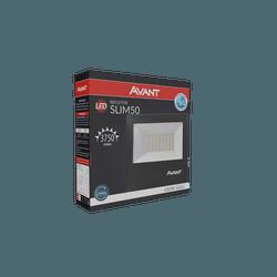 Refletor Led 50W Branco 6.500k Bivolt - Broketto Materiais Elétricos