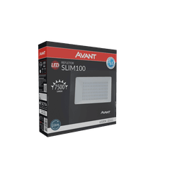 Refletor Led 100W Branco 6.500k Bivolt - Broketto Materiais Elétricos