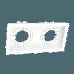 Spot de Embutir MR16 Dicroica Duplo Recuado - Broketto Materiais Elétricos