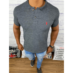 Polo RL Cinza ⭐ - PRL025 - RP IMPORTS