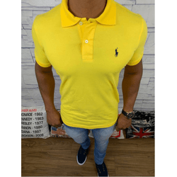 Polo Rl Amarelo - PRL022 - RP IMPORTS
