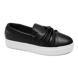 Tênis Slip on Preto - Charlotte Shoes