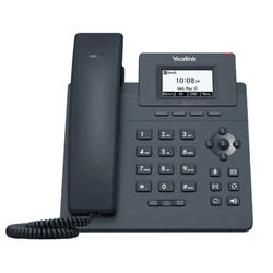T30 - Telefone IP Yealink SIP com Fonte - SIP T30 - C&M Store