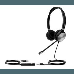 UH36 Biauricular - Headset Yealink USB - UH36 Dual... - C&M Store