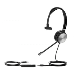 UH36 Monoauricular - Headset Yealink USB - UH36 Mo... - C&M Store