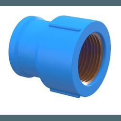 Luva Em PVC Soldável Com Bucha De Latão Azul - Tig... - Sertãozinho Construlider