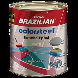 Esmalte Epóxi Preto M N1 2,7 Litros - Brazilian - CONSTRUTINTAS