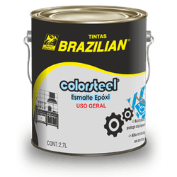 Fundo Primer Epóxi Vermelho Oxido 2,7L - Brazilian - CONSTRUTINTAS