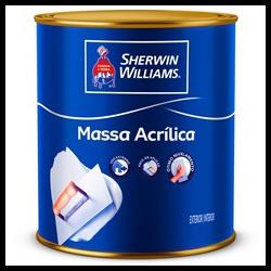 Massa Acrílica Metalatex Sherwin Williams 900ml 1,5kg - CONSTRUTINTAS