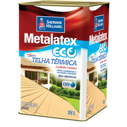 Resina Brilhante Térmica Metalatex Eco Sherwin Williams 18L (Escolha Cor) - CONSTRUTINTAS