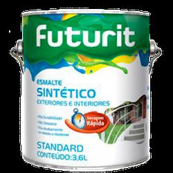 Esmalte Sintético Brilhante (Escolha Cor) 3,6L - Futurit - CONSTRUTINTAS