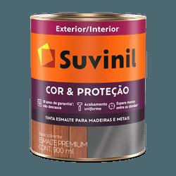 Esmalte Sintético Brilhante (Escolha Cor) 3,6L Cor e Proteção - Suvinil - CONSTRUTINTAS