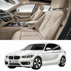Revestimento Banco de Couro BMW 120i - Couro Nobre