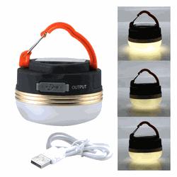 Lanterna de Camping Barraca Recarregavel USB Magne... - DANDARO