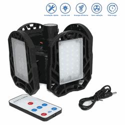 Lanterna LED Dobrável Camping Recarregável Solar e... - DANDARO