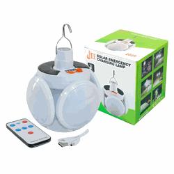 Lanterna Dobrável LED 4 folhas Redonda - Carregame... - DANDARO