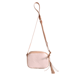 Bolsa Pochete Pequena Feminina Alça Transversal Matelasse Rosa - D&R SHOES