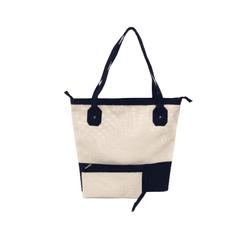 Bolsa Bag Grande Moda Praia De Ombro Com Necessaire Preto - D&R SHOES