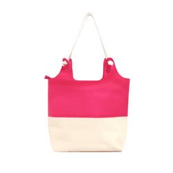 Bolsa Bag Moda Praia De Ombro Com Necessaire Feminina Rosa - D&R SHOES