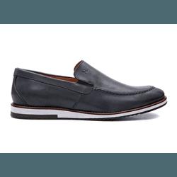 Sapato Casual Masculino Sport NV Couro Marinho - 8... - D&R SHOES
