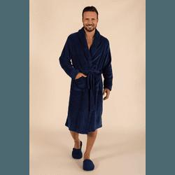 Robe Masculino Soft Marinho - 011640R - DIVINA STORE