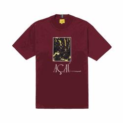 Camiseta Class Açai Burgundy - 3237 - DREAMSSKATESHOP