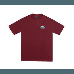 Camiseta Disturb Five Senses Burgundy - 3224 - DREAMSSKATESHOP