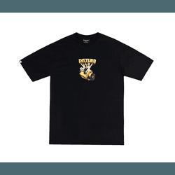 Camiseta Disturb Main Course Black - 3222 - DREAMSSKATESHOP