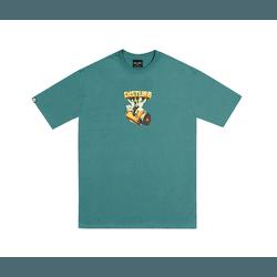 Camiseta Disturb Main Course Green - 3222 - DREAMSSKATESHOP