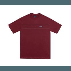 Camiseta Disturb Rubberized Burgundy - 3221 - DREAMSSKATESHOP