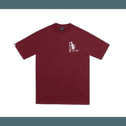 Camiseta Disturb Street Sauce Burgundy - 3223 - DREAMSSKATESHOP