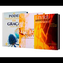 Kit com-3 Livros - 004 - EDITORA PALAVRA FIEL