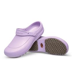 Babuche Ameixa BB60 Soft Works Calçado de Segurança EPI Antiderrapante - Empório Materno