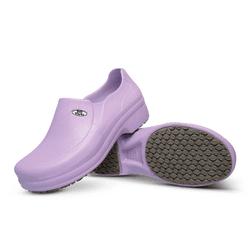 Babuche Ameixa BB65 Soft Works Calçado de Segurança EPI Antiderrapante - Empório Materno