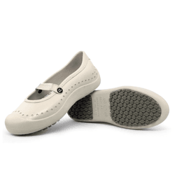 Sapatilha Bege Soft Works BB51 Sapato de Segurança EPI Antiderrapante - Empório Materno
