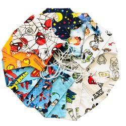 Kit 20 Máscaras Infantis - Sortidas - Empório Materno