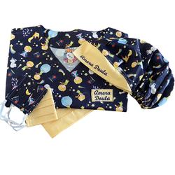 Kit Pijama Cirúrgico - Pequeno Príncipe - Empório Materno