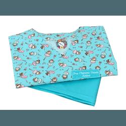Pijama Cirúrgico Feminino - Bailarinas Digital 02 - Empório Materno